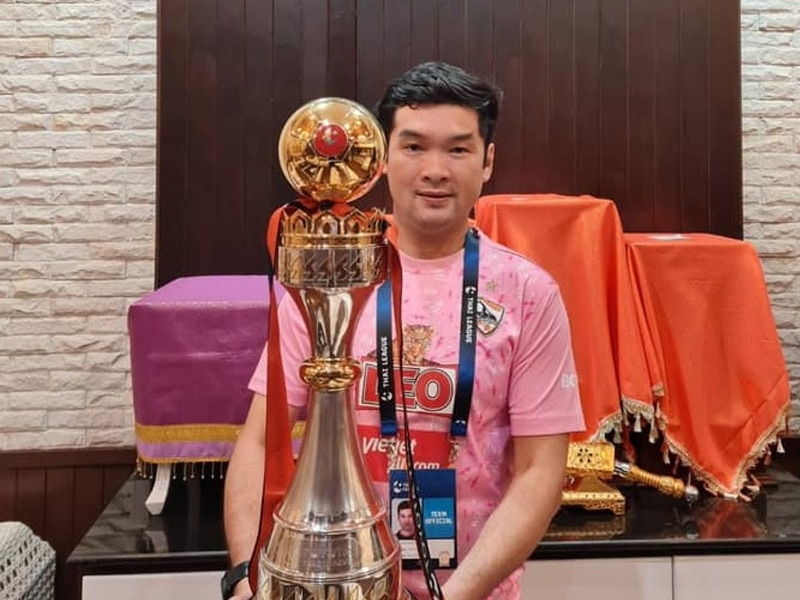 บิ๊กฮั่น ส่งความยินดี บีจีปทุม ว่าที่แชมป์ไทยลีกของฤดูกาลนี้