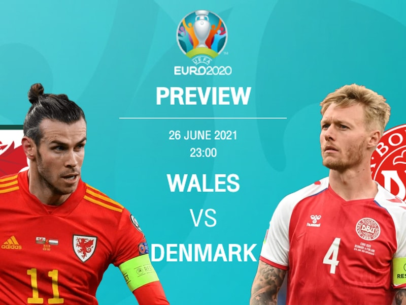 พรีวิว ยูโร 2020 รอบน็อคเอาท์ คืนนี้ เวลส์ VS เดนมาร์ก