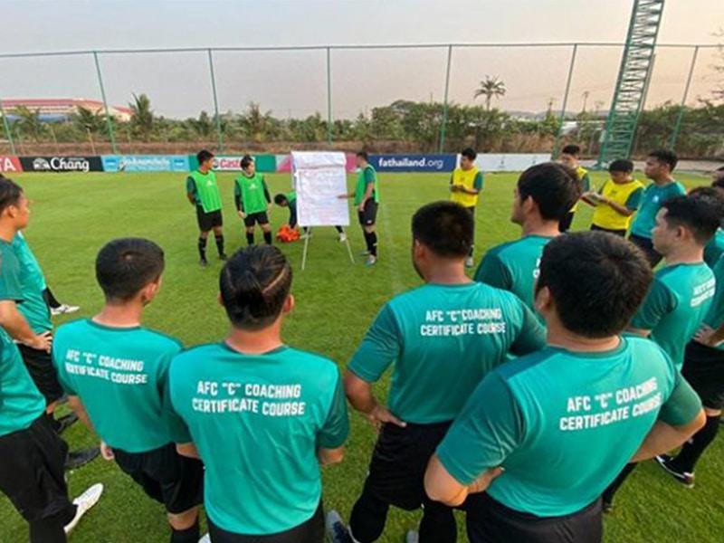 ยกระดับ โค้ชไทย ส.บอลไทย เข้าโครงการ AFC Coaching